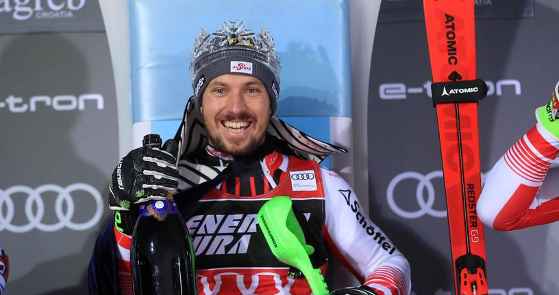Marcel Hirscher (Foto: Slavko Midžor/PIXSELL)