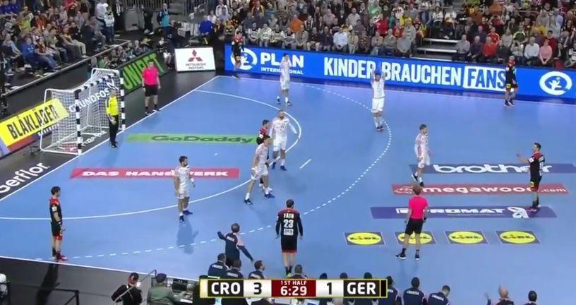 Njemačka - Hrvatska (Screenshot: YouTube)