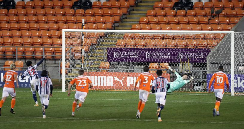 Blackpool - West Bromwich Albion