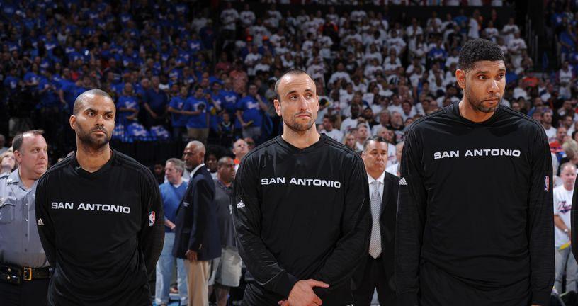 Tony Parker, Manu Ginobilli, Tim Duncan (Foto: AFP)