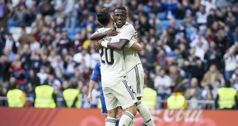 Marco Asensio i Vinicius Junior (Foto: nph/NordPhoto/PIXSELL)