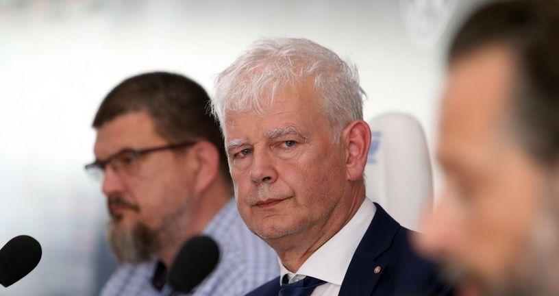 Predsjednik Hajduka Marin Brbić (Photo: Ivo Cagalj/PIXSELL)