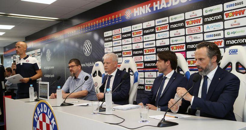Benjamin Perasović, Marin Brbić, Saša Bjelanović i Lukša Jakobušić (Photo: Ivo Cagalj/PIXSELL)