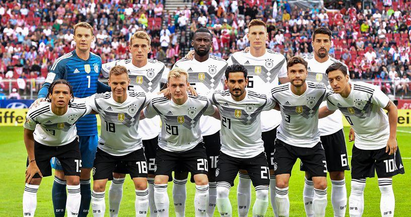 Momčad Njemačke (Foto: AFP)