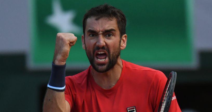 Marin Čilić slavi pobjedu (Foto: AFP)