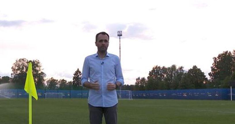 Saša Lugonjić u 22 sata na trening igralištu