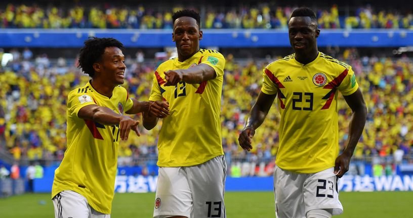 Slavlje Kolumbije (Foto: AFP)