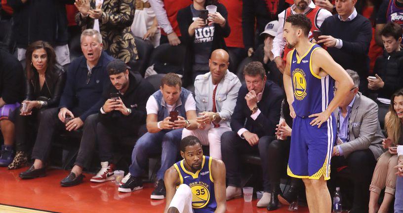 Kevin Durant ozlijedio ahilovu tetivu (Foto: AFP)