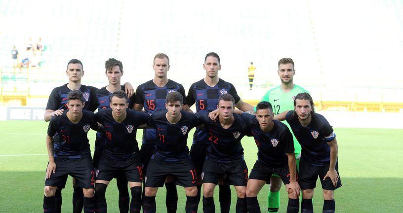 Mlada hrvatska reprezentacija (Foto: Goran Kovacic/PIXSELL)
