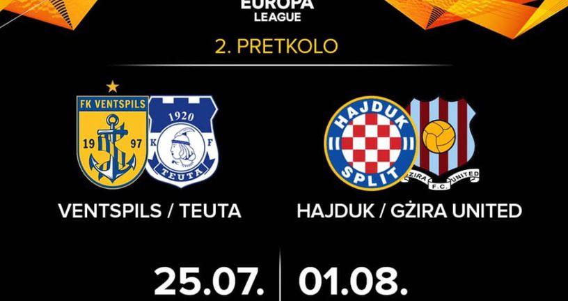 Drugo pretkolo Europske lige (Foto: HNK Hajduk Facebook)