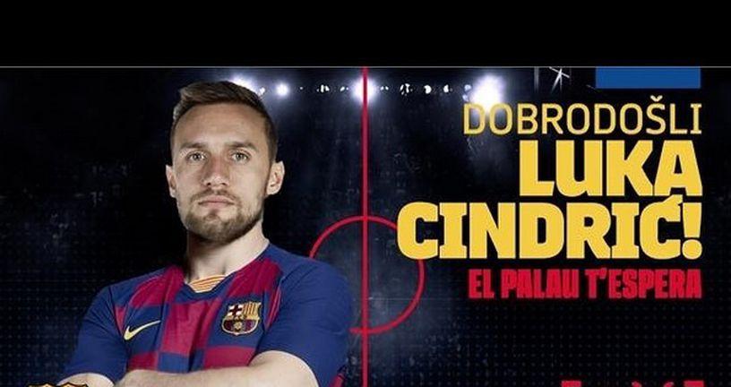 Luka Cindrić potpisao za Barcelonu (Foto: Instagram)