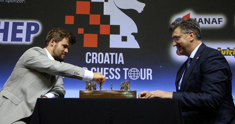 Croatia Grand Chess Tour (Foto: Marin Tironi/PIXSELL)