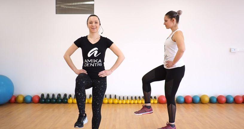 Trenerice Amika centara pripremile su minitrening za donji dio tijela