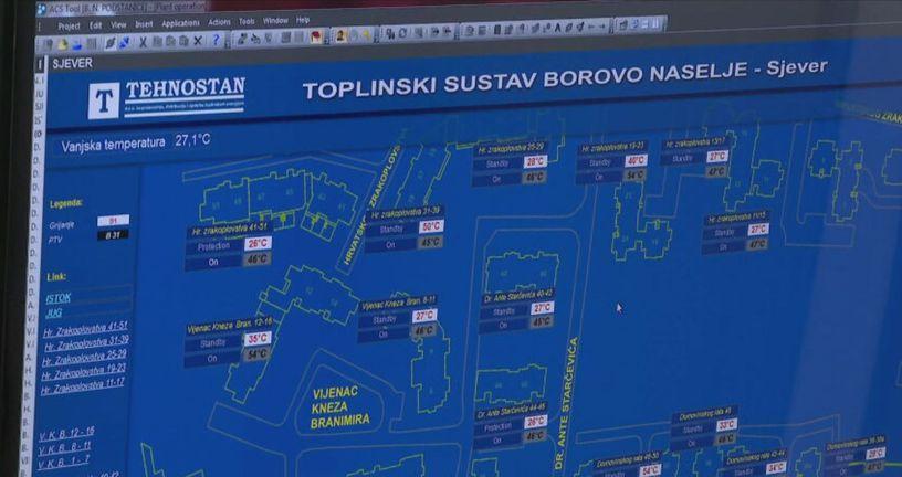 Toplinski sustav Borovo Naselje