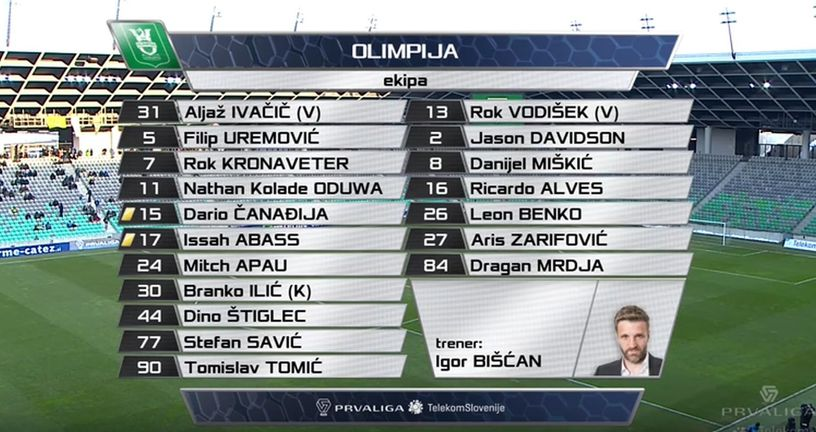 Olimpija (Screenshot: YouTube)