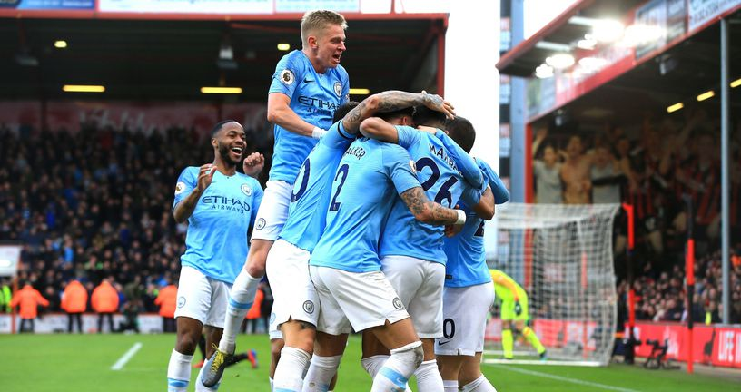 Slavlje Manchester Cityja (Foto: Mark Kerton/Press Association/PIXSELL)