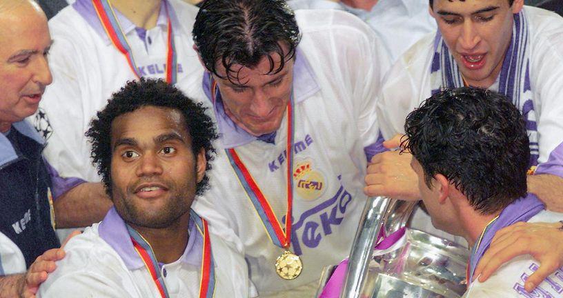 Šuker i Raul s trofejem Lige prvaka (Foto: AFP)