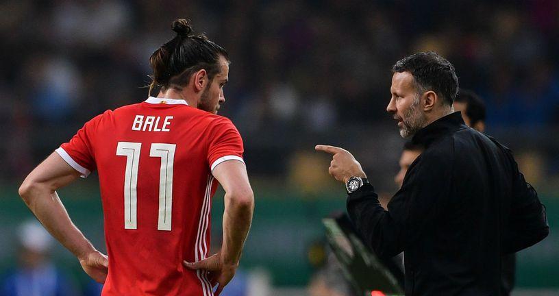 Gareth Bale i Ryan Giggs (Foto: AFP)