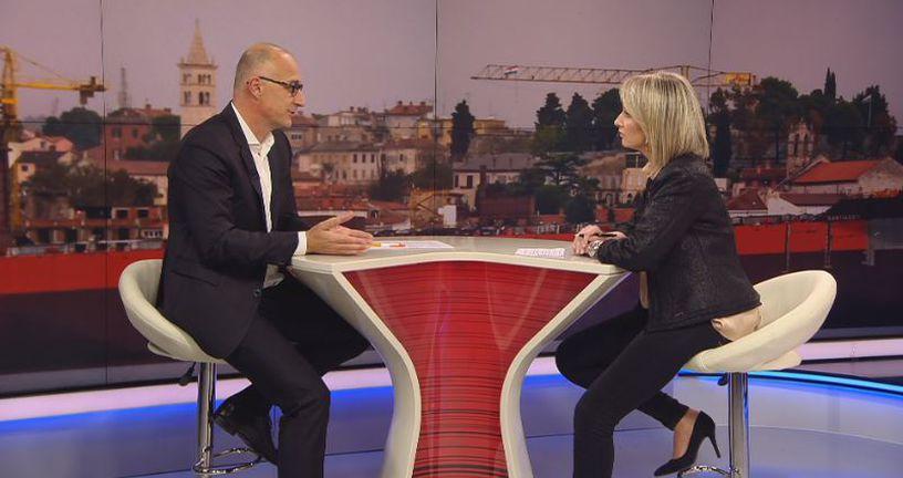 Predsjednik HNS-a Ivan Vrdoljak i Sabina Tandara Knezović (Foto: Dnevnik.hr)