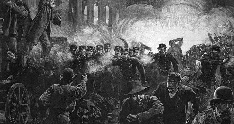 Ilustracija prosvjeda u Chicagu (Foto: Wikipedia)