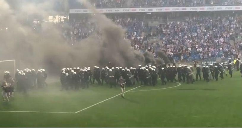 Neredi u Poljskoj (Screenshot YouTube)