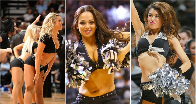 Cheerleadersice San Antonio Spursa (Foto: AFP)