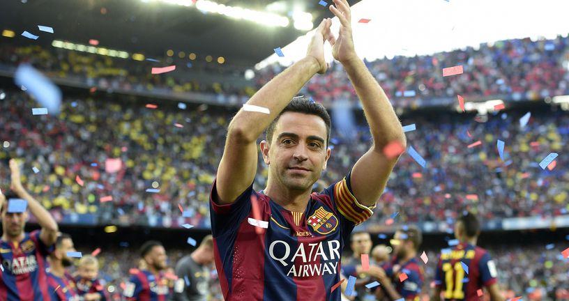 Xavi (Foto: AFP)