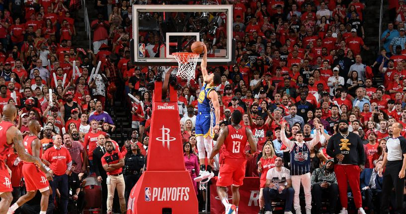 Curryjev pokušaj zakucavanja (Foto: AFP)