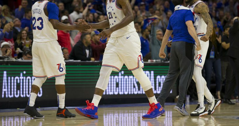 Philadelphia 76ers (Foto: AFP)