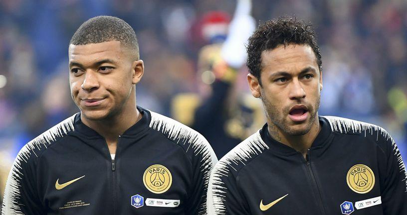 Kylian Mbappe i Neymar (Foto: AFP)