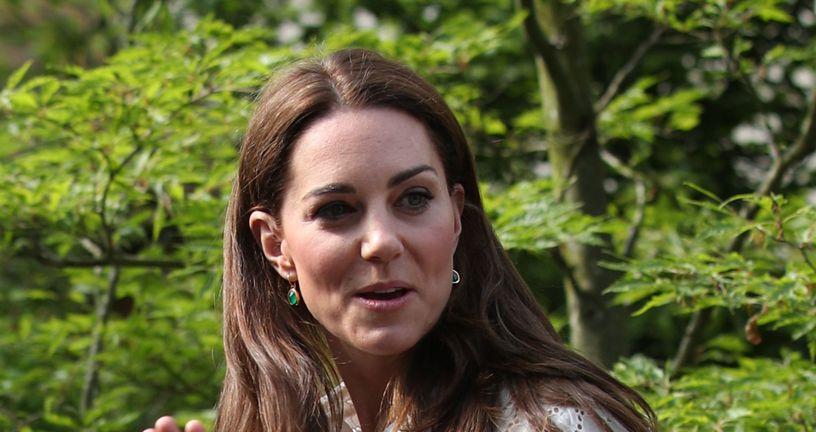 Kate Middleton i njezin flaster (Foto: Getty Images)