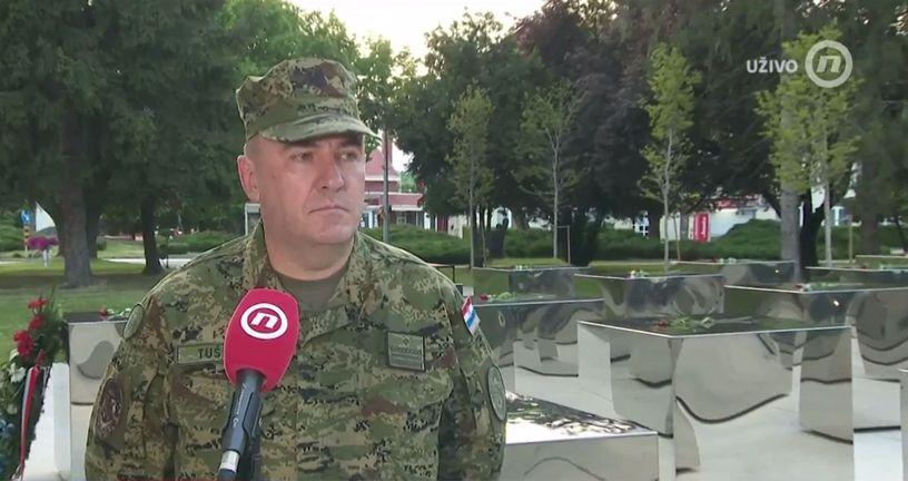 Krešo Tuškan, brigadni general Oružanih snaga RH