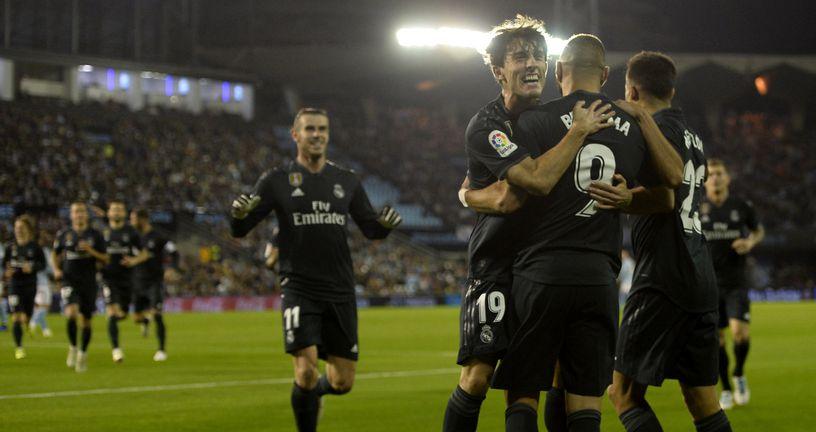 Slavlje igrača Reala (Foto: AFP)