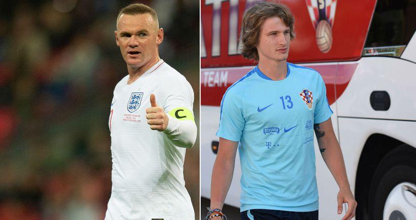 Wayne Rooney i Tin Jedvaj - nije teško odlučiti tko je zgodniji