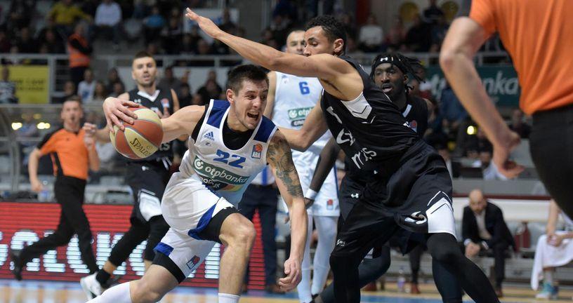 Zadar - Partizan (Foto: Dino Stanin/PIXSELL)