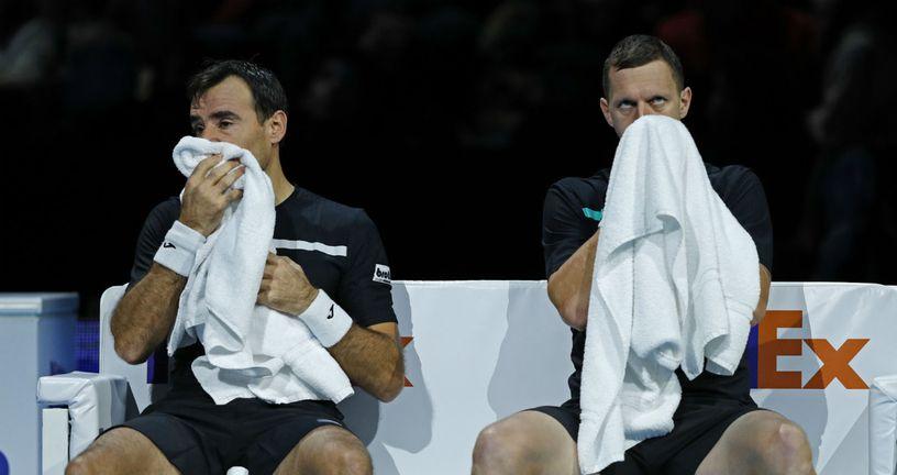Ivan Dodig i Luka Polašek (Foto: AFP)