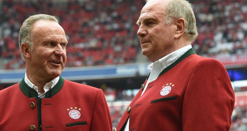 Karl-Heinz Rummenigge i Uli Hoeness (Foto: AFP)