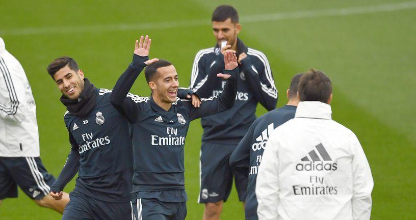 Lopetegui na treningu Reala (Foto: AFP)