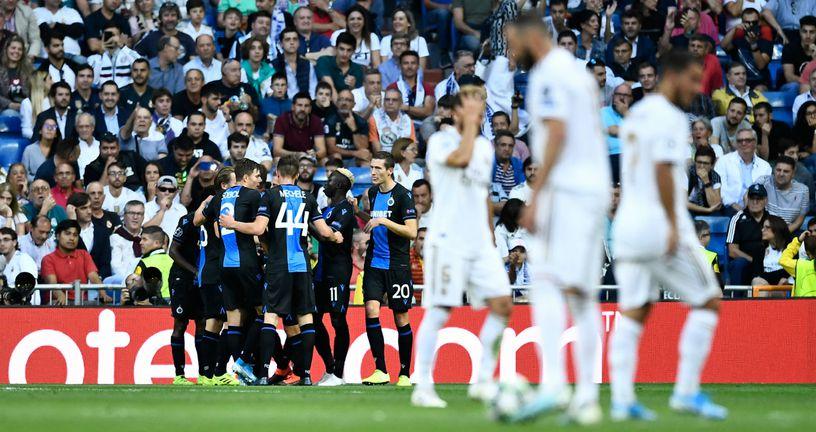 Slavlje Club Bruggea (Foto: AFP)
