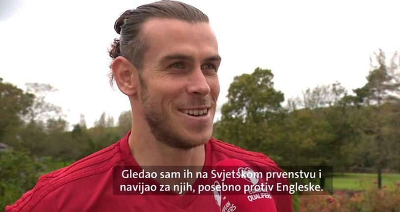 Gareth Bale za Dnevnik Nove TV (Foto: GOL.hr)