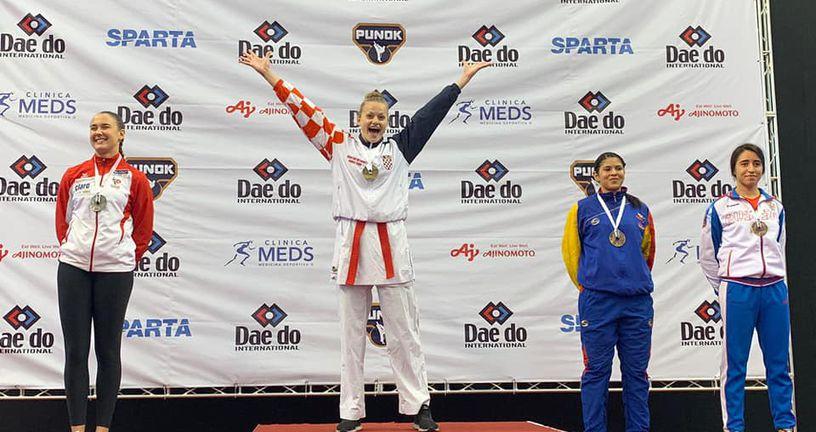Lucija Lesjak svjetska prvakinja (Foto: Hrvatski karate savez)