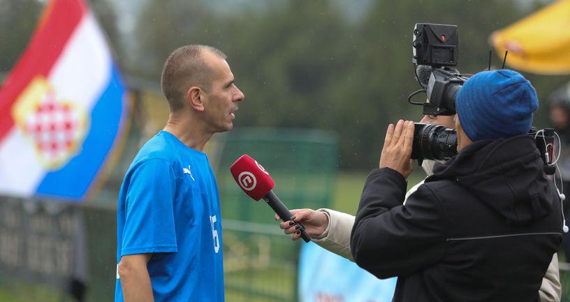 Slavko Husnjak iz fan kluba Budi ponosan