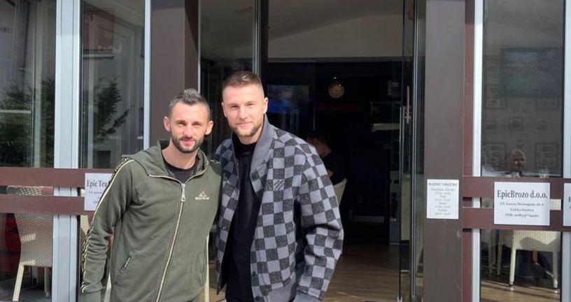 Marcelo Brozović i Milan Škriniar