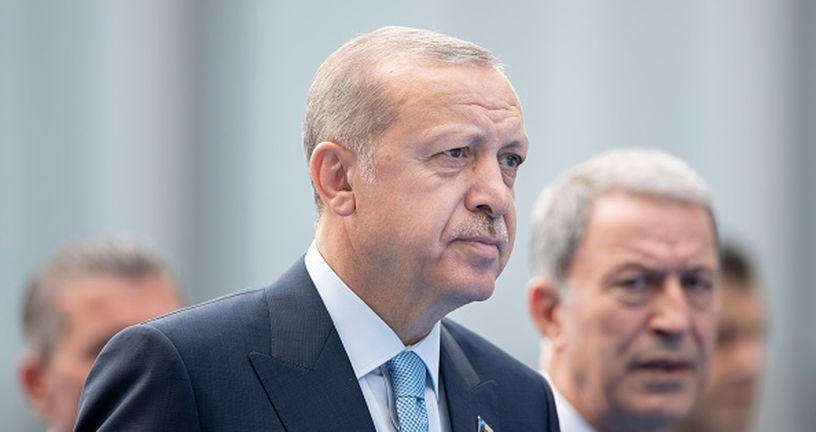 Tayyip Erdogan (Photo by Jasper Juinen/Getty Images)