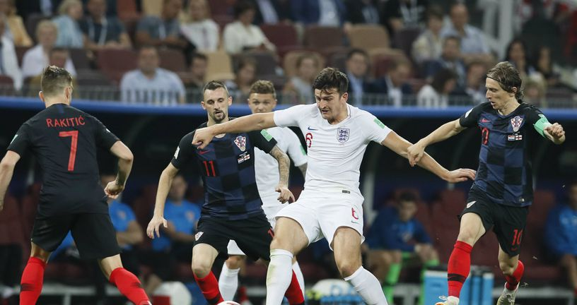 Harry Maguire protiv Hrvatske (Foto: David Klein/Press Association/PIXSELL)