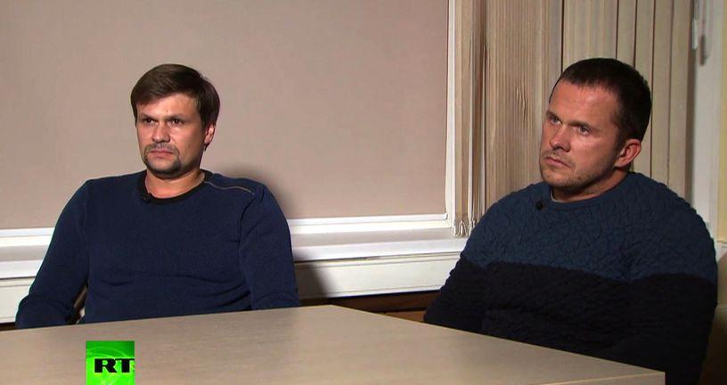 Ruslan Boširov i Aleksandar Petrov (Foto: AFP)
