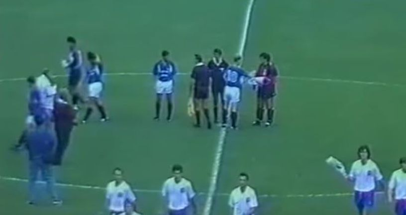 Detalj s utakmice Vrapče - Hajduk (Screenshot)