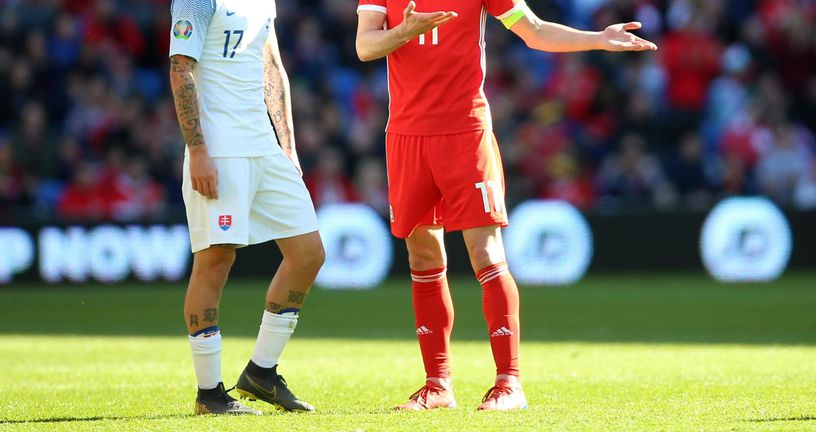 Marek Hamšik i Gareth Bale (Foto: Nigel French/Press Association/PIXSELL)