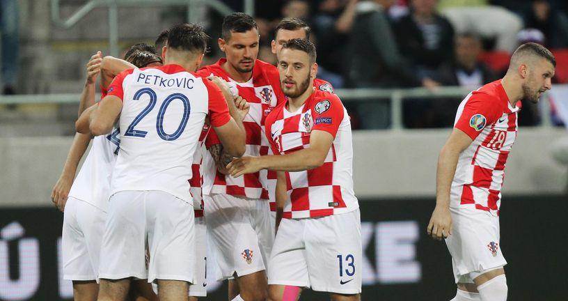Slavlje Petkovića, Vlašića i suigrača (Foto: Davor Javorović/PIXSELL)