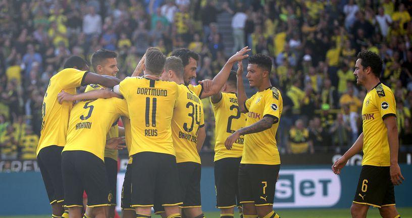 Slavlje Borussije Dortmund (Foto: AFP)